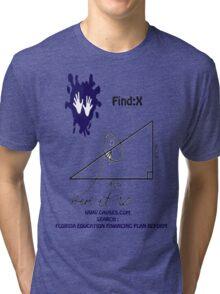 funny math t-shirt Tri-blend T-Shirt