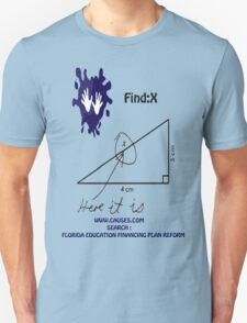 funny math t-shirt T-Shirt