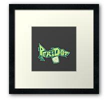 Peridot Spray Framed Print
