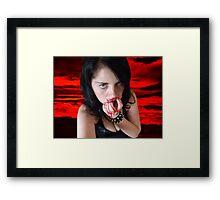 I Am Cannibal Framed Print