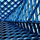 Angles in Blue by Anne McKinnell