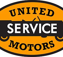 United Service Motors vintage sign by htrdesigns