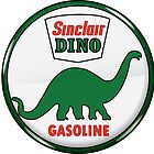 Sinclair Dino Gasoline vintage sign by htrdesigns