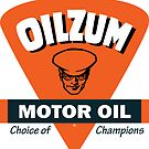 Oilzum Motor Oil vintage sign by htrdesigns