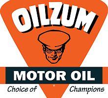 Oilzum Motor Oil vintage sign by htrdesigns