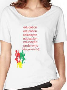 education t-shirt  Women's Relaxed Fit T-Shirt
