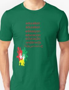 education t-shirt  Unisex T-Shirt