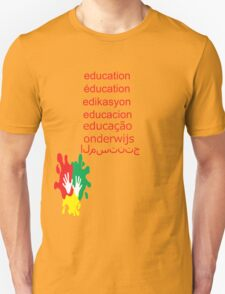 education t-shirt  Unisex T-Shirt