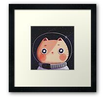 Cat Astro Framed Print
