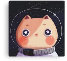Cat Astro Canvas Print