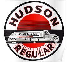 Hudson Gasoline vintage sign Poster