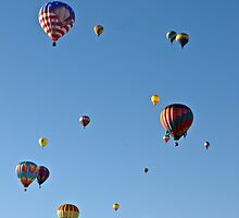 Hot air balloons by ashley hutchinson