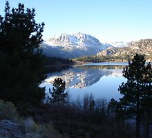 Winter  in June Lake by Glenn Clark
