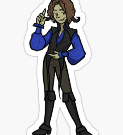 Once Upon A Time Rumplestiltskin That Still Small Voice Sticker