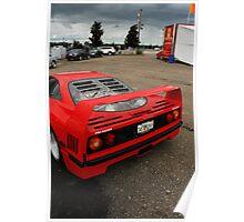 Ferrari F40 Poster