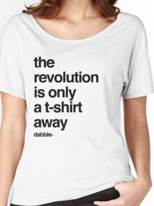 The Revolution Women's Relaxed Fit T-Shirt