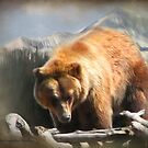 Grizzly at Lone Mountain by Kay Kempton Raade