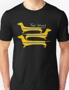 Taxi Stand Dogs T-Shirt