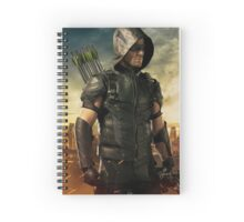 Arrow Season 4 | Green Arrow | Oliver Queen | Stephen Amell Spiral Notebook