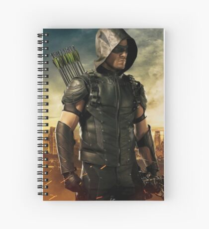 Arrow Season 4 | Green Arrow | Oliver Queen | Stephen Amell Spiral Notebook