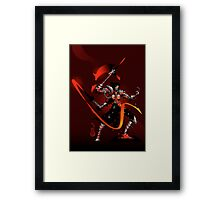 The Black Queen's Knight Framed Print