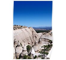 Tent Rocks and Sangre De Christo Mountains Poster