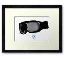 Sad Jasper Jordan Framed Print