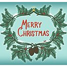 Merry Christmas Vintage Cards by TsipiLevin
