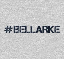 #BELLARKE (Navy Text) Kids Tee