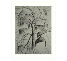 Church, Conwy Art Print