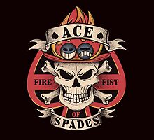 Ace of spades by Typhoonic