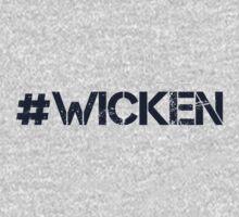 #WICKEN (Navy Text) by 4everYA