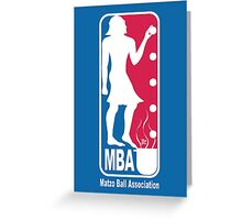 Matzo Ball Association  Greeting Card
