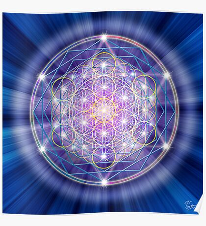 Sacred Geometry 46 Poster