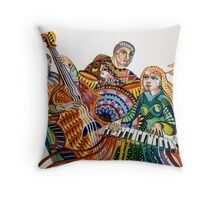 Dick's Trio Throw Pillow