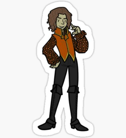 Once Upon A Time Rumplestiltskin Heart of Darkness Sticker