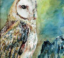 Bright Owl by windsprite17