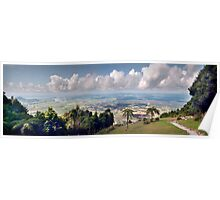 Shoalhaven from Mount Camberwarra Poster