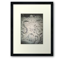 Alien Avian Framed Print