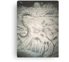 Alien Avian Canvas Print
