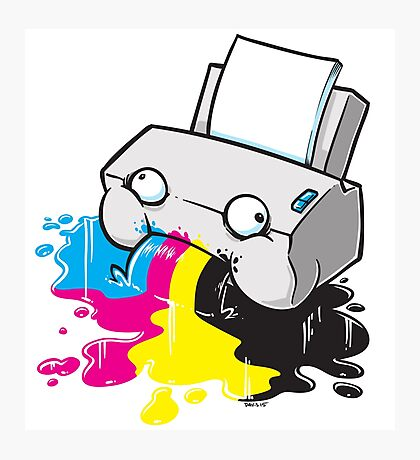 Puker Printer Photographic Print