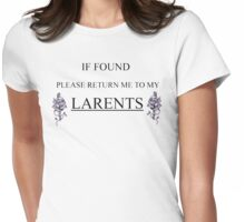 Larry Stylinson Larents Womens Fitted T-Shirt