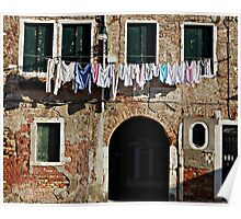 Venetian Swags-Venice, Italy Poster