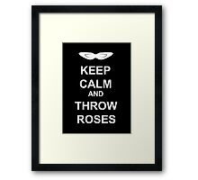 Tuxedo Mask - Keep Calm Framed Print