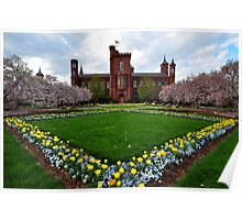 The Smithsonian Institution - Washington D.C. Plate # 2 Poster