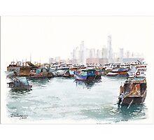 Causeway Bay, SAR Hong Kong Photographic Print