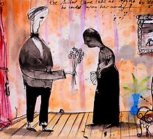 the suitor by Loui  Jover