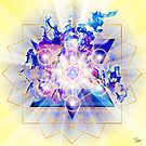 Sacred Geometry 48 by Endre