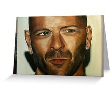 Bruce Willis Greeting Card
