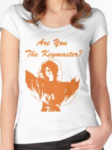 Are You The Keymaster?? Women's Fitted Scoop T-Shirt